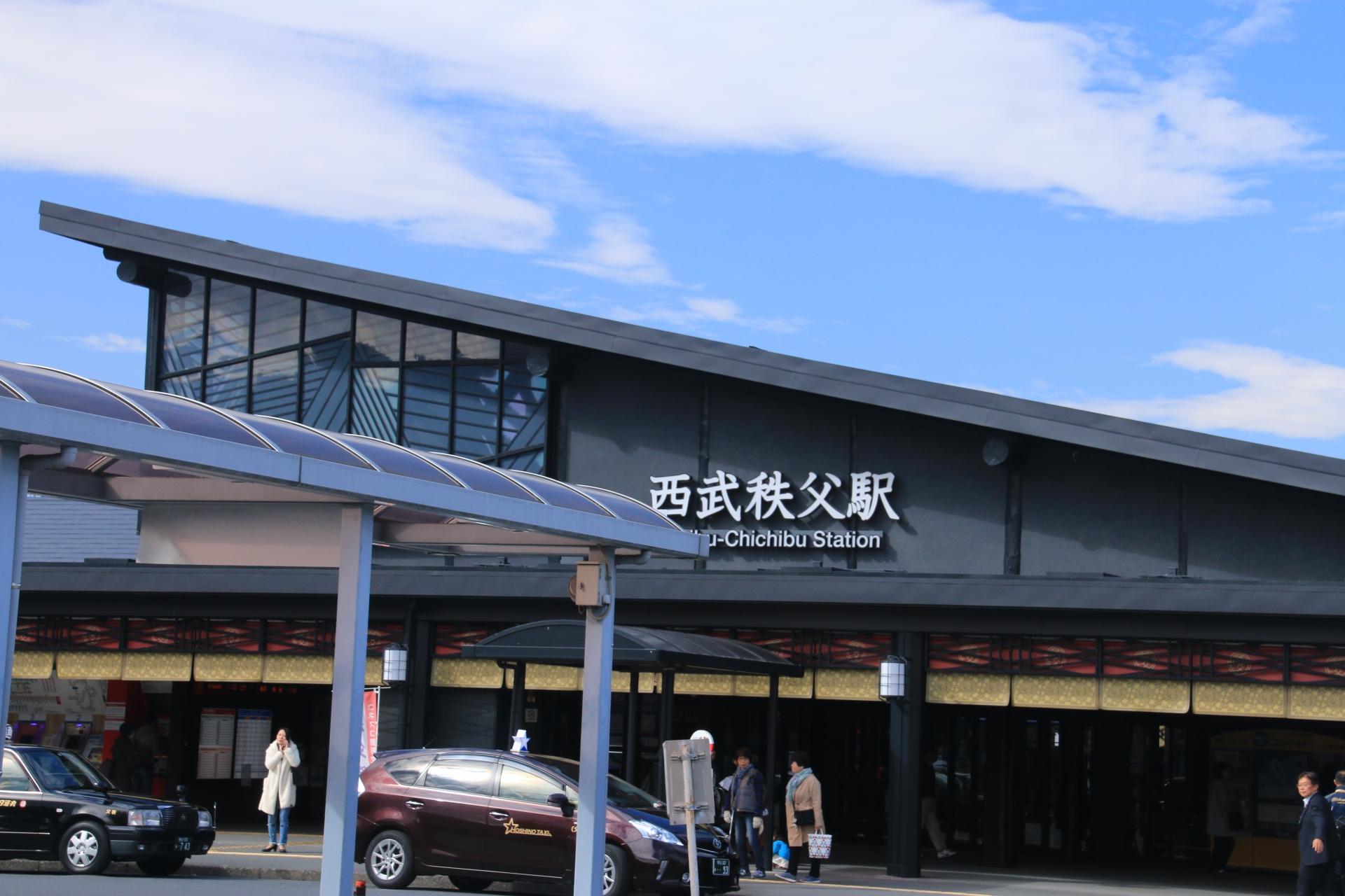 西武秩父駅舎