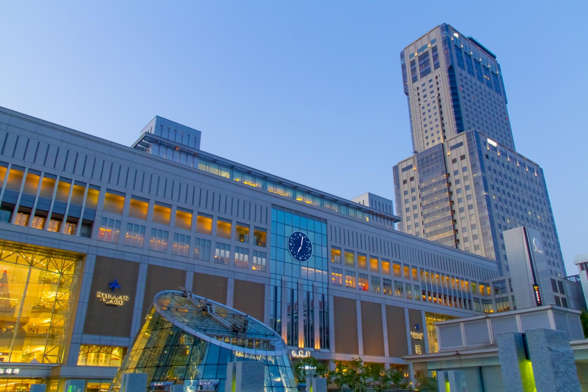 札幌駅南口(マジックタイム)
