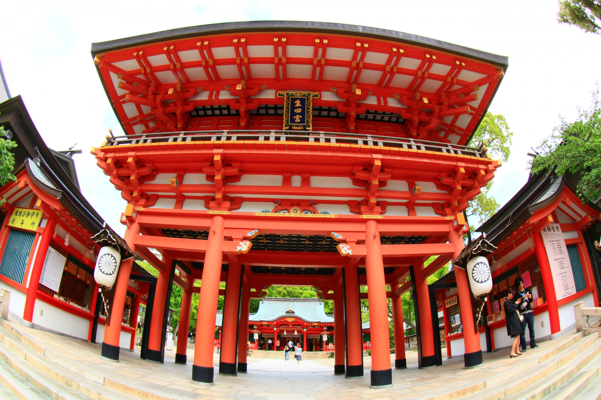 生田神社(三宮駅イメージ)
