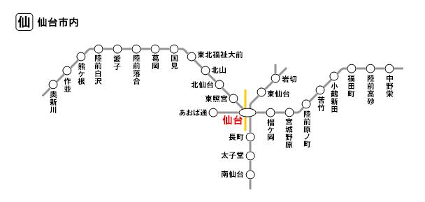 仙台市内(特定都区市内)