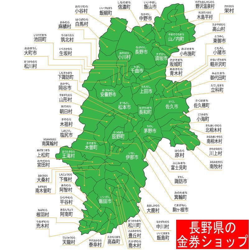長野県の金券ショップ