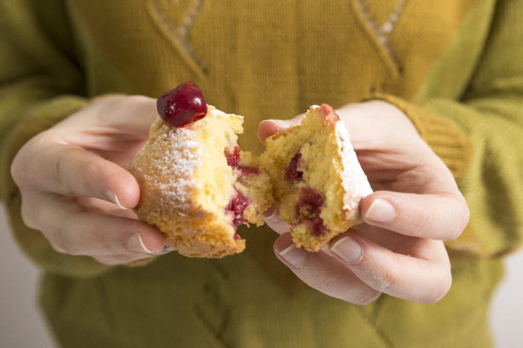 分ける|半分|分割|ケーキ
