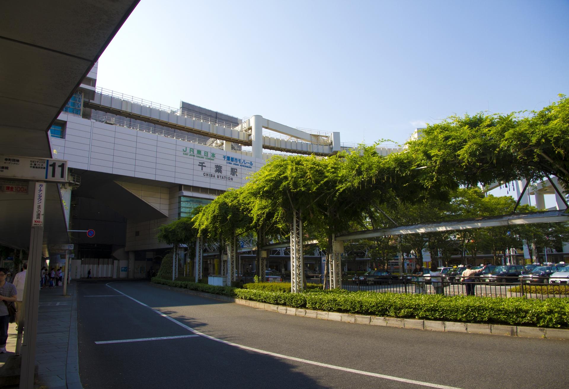千葉駅前 東口