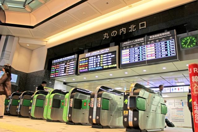 東京駅 丸の内北口 改札・EXカードイメージ