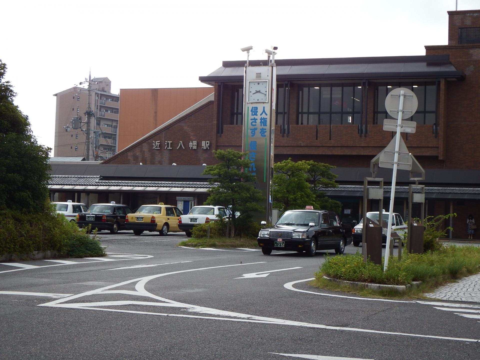 近江八幡駅舎
