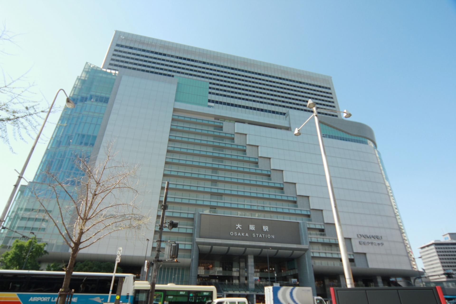 JR大阪駅玄関